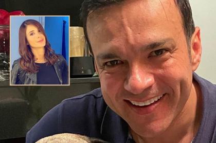Juan Diego Alvira en foto de Instagram, red social donde hizo petición a Alejandra Giraldo, reemplazo de Mónica Jaramillo en Noticias Caracol.