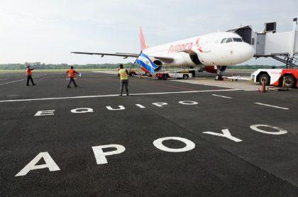Avión de Avianca: vuelos internacionales de Avianca que estarán disponibles a partir de la próxima semana.