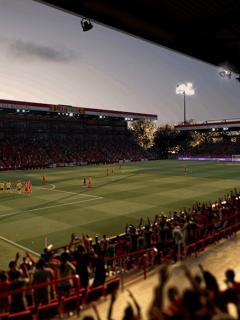 Uno de los 95 estadios que hará parte de FIFA 21, juego que tendrá más de 30 ligas y algunos equipos colombianos