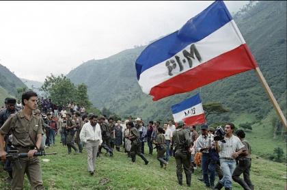 M-19, imagen de referencia: la Alcaldía de Bogotá solicitó 5.000 millones de pesos para construir un monumento alusivo al acuerdo de paz con el M-19.
