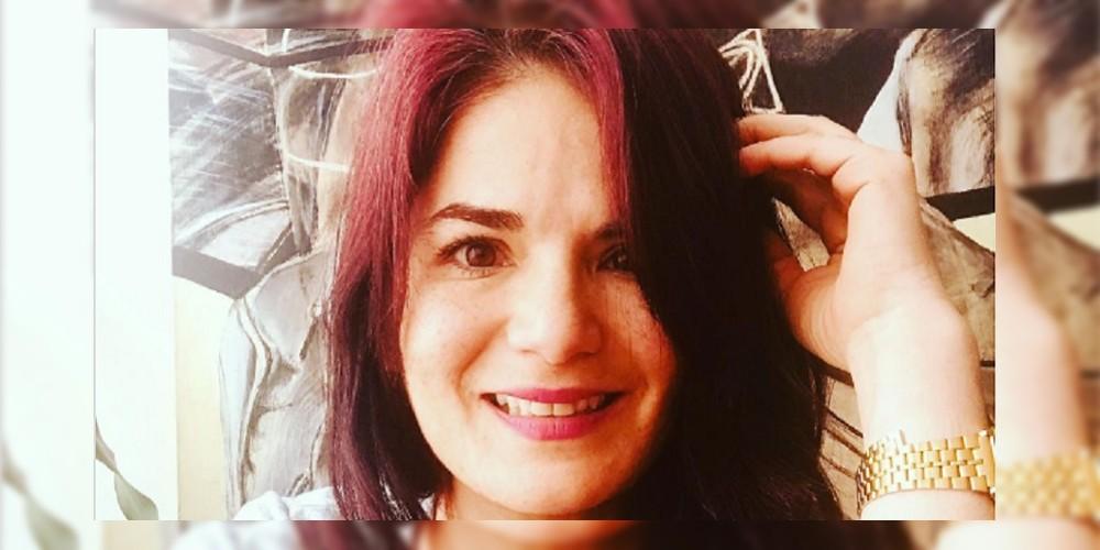 Selfi de Tatiana Jauregui, Dominga en 'Pasión de gavilanes', de agosto del 2020.