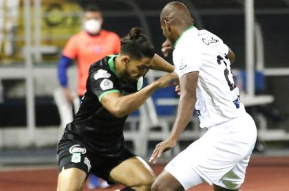 Once Caldas vence 2-0 a Nacional; Dayro Moreno jugó