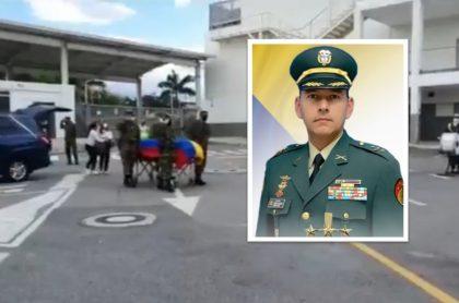 Coronel Hebert Garzón: comandante del Ejército falleció en Bucaramanga luego de luchar varios meses contra el COVID-19.