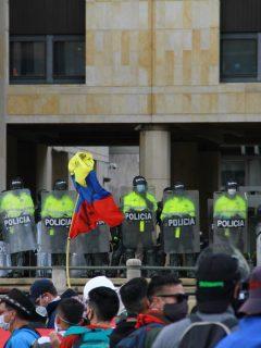 Imagen de referencia de la Policía, a propósito de las críticas de Germán Vargas Lleras.