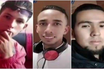 Jóvenes asesinados en Soacha.