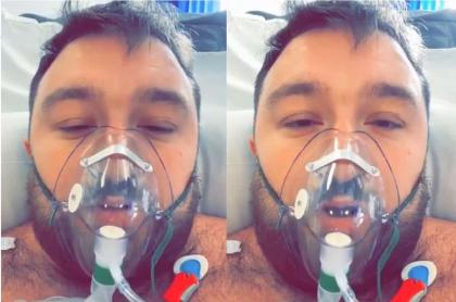 Chris Grailey, de 29 años, instó mediante un video a todos los jóvenes a que tomen conciencia sobre la gravedad del coronavirus.