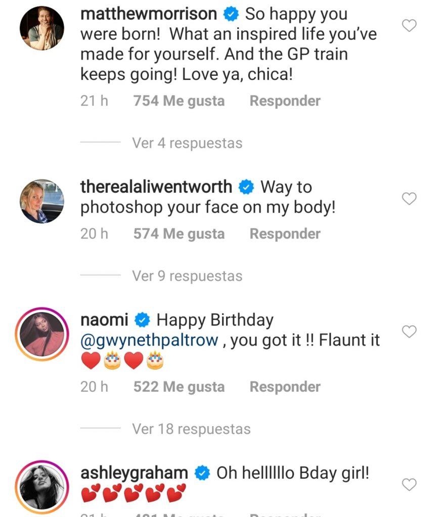 Instagram @gwynethpaltrow