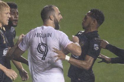 Gonzalo Higuaín molesto porque se burlaron de él en la MLS tras fallar penalti