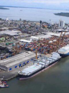 Puerto de Buenaventura: el Gobierno anunció las actividades de mantenimiento del puerto.
