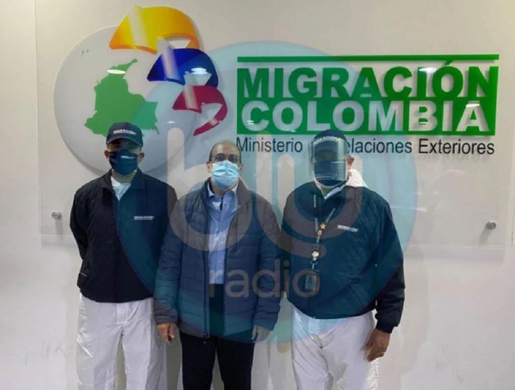 Migración Colombia, vía Blu Radio