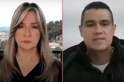 Vicky Dávila y Juan Guillermo Monsalve, testigo de la Corte contra Álvaro Uribe