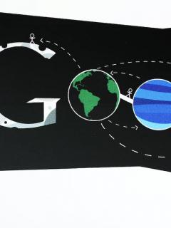 Imagen de un 'doodle' para ilustrar nota sobre el origen de los garabatos de Google