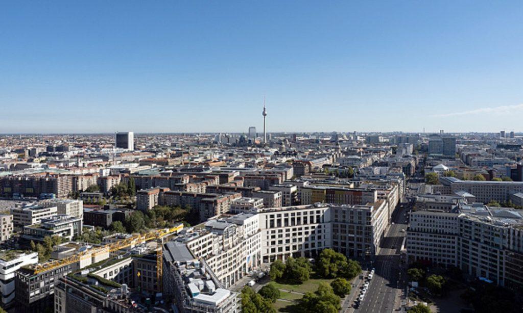Foto panorámica de Berlín, Alemania.