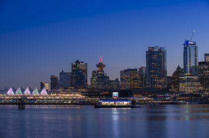 Vancouver (Canadá) es una de las mejores ciudades para vivir en el mundo.