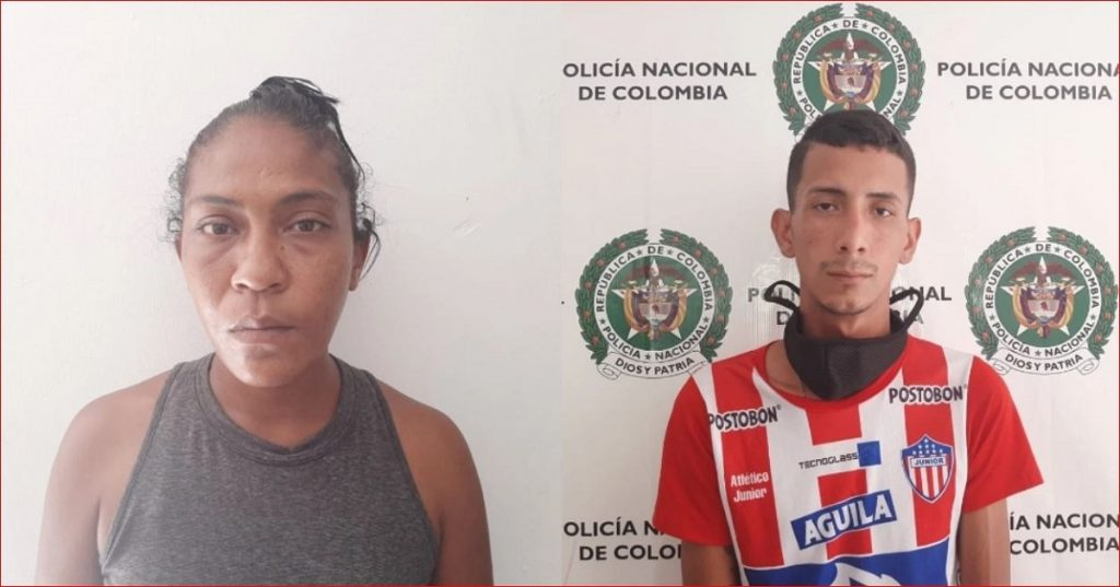 Pareja capturada por maltratar a su hija - Foto: Policía - Código Prensa