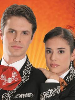 Mark Tacher y Carolina Ramírez, cuando eran parte del elenco de 'La hija del mariachi', novela que RCN repetirá.