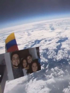 Imágenes de la Tierra tomadas desde la atmósfera por colombiano