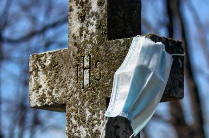 Imagen de un cementerio, a propósito de los protocolos de bioseguridad en reapertura de cementerios