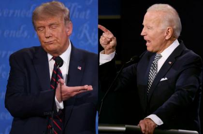 En el primer debate de candidatos presidenciales de Estados Unidos, el presidente Donald Trump logró sacar de casillas a su rival, Joe Biden, en varias oportunidades.