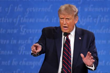El racismo y el abuso de autoridad fueron temas durante el primer debate presidencial; tema en el que Donald Trump demostró tener algunos problemas