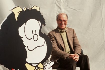 Muere el caricaturista Quino, creador de Mafalda.