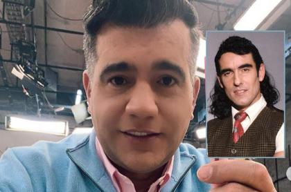 Selfi de Carlos Calero, quien bailó 'El pirulino' de 'Pedro, el escamoso' en 'Día a día'.