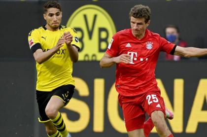 Imagen de referencia de Bayern Múnich y Borussia Dortmund, rivales en la Supercopa de Alemania