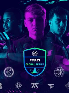 Imagen del videojuego FIFA 21 Global Series por la EA Sports.