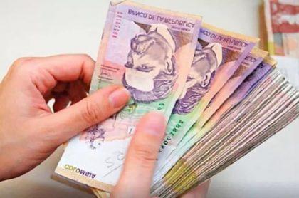 Dinero colombiano, a propósito del quinto giro de Ingreso Solidario.