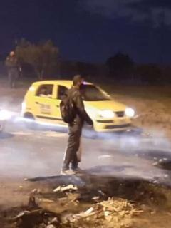 Policía y gestores de convivencia lograron desbloquear la Avenida Boyacá pasadas las 10:30 de la noche de este jueves 1 de octubre.