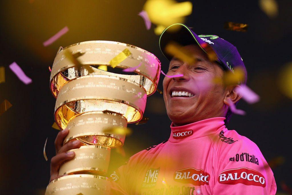 Nairo Quintana en 2014, cuando ganó el <a href=