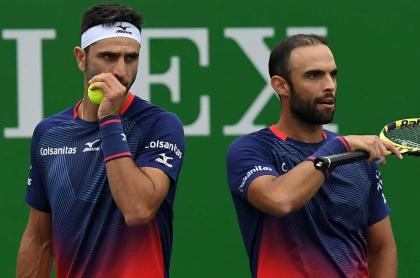 Robert Farah y Juan Sebastián Cabal, a tercera ronda de Roland Garros. Foto de referencia.