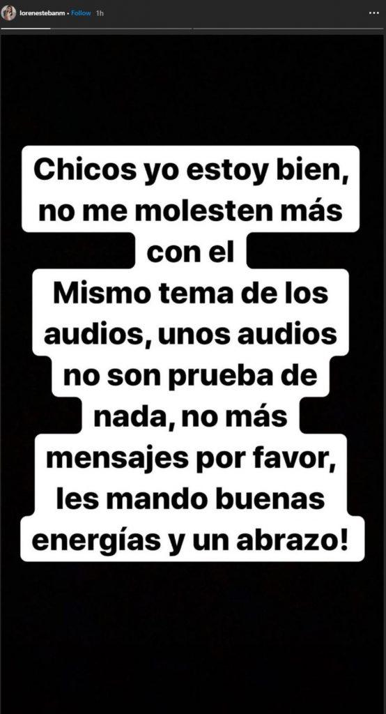 Instagram @lorenestebanm