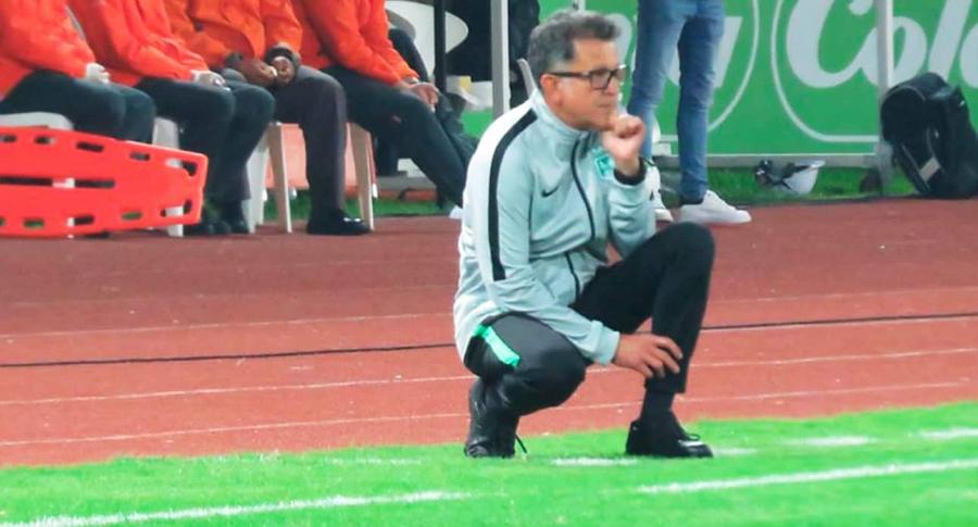 Juan Carlos Osorio, técnico de Nacional. Foto de referencia.