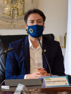 Daniel Quintero Calle en la Alcaldía de Medellín: Centro Democrático anunció demanda contra el alcalde de Medellín por calumnia.
