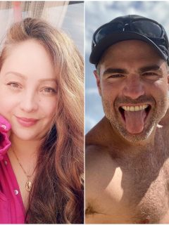 Fotomontaje de Ana Victoria Beltrán y Roberto Manrique, famosos que cerraron Twitter de forma definitiva