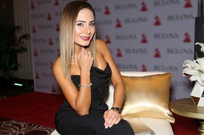 Johanna Fadul, actriz que reveló que usa bótox este 2020, en evento de los Latin Grammy en 2018.