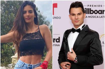 Fotomontaje de Jessica Cediel y Pipe Bueno, a propósito de que la presentadora recordó romántica portada que hicieron