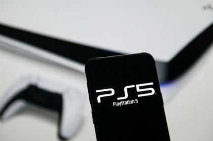 Logo de la consola PS5