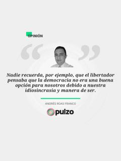 Frase destacada de columna sobre libro de vida de Manuelita Sáenz