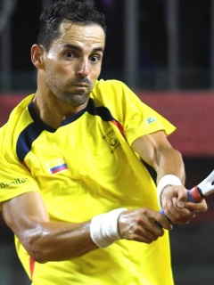 Santiago Giraldo se retira del tenis profesional. Imagen de referencia.