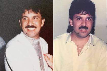 Rafael Orozco, cantante que, dicen, mataron por culpa de su amante María Angélica Navarro.