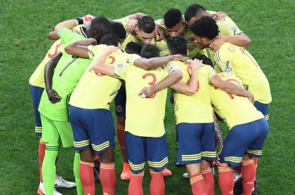 Colombia debuta en la Eliminatoria ante Venezuela. Imagen de referencia del combinado 'cafetero'.