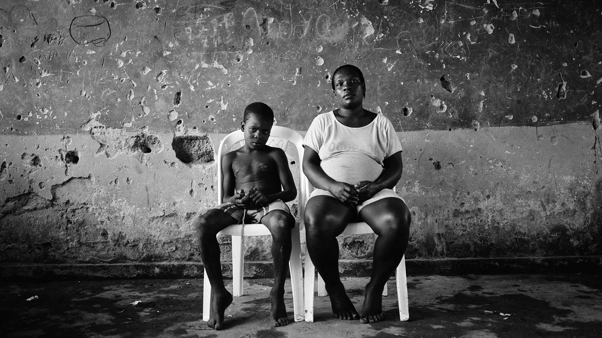 Foto de víctimas del conflicto armado en Colombia