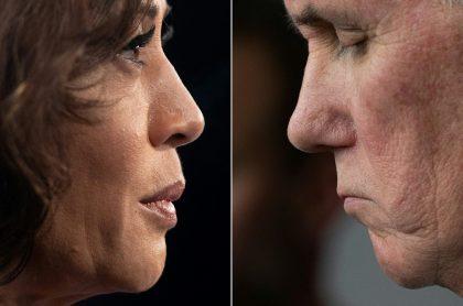 Debate vicepresidencial en EE. UU. de Kamala Harris y Mike Pence.