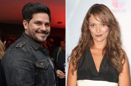 Roberto Cano y Carolina Acevedo, quien habló de cómo es hoy su relación con ese actor del que se divorció hace en 2004 (fotomontaje Pulzo).