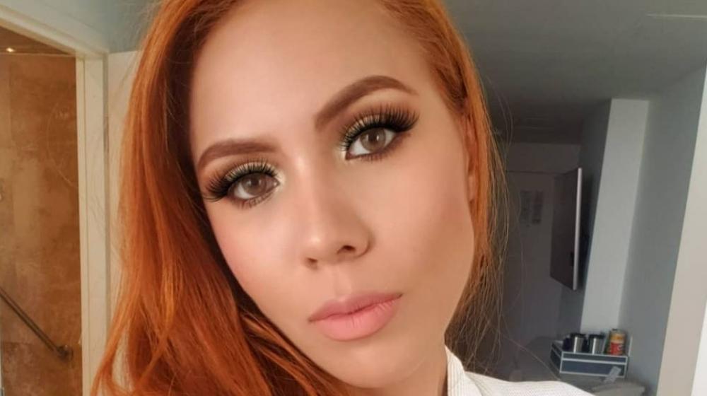 María Del Mar Meza, Miss Bogotá 2020, es modelo, presentadora y empresaria.