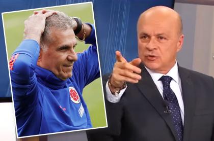 Carlos Antonio Vélez advierte a Queiroz sobre la presencia de Yepes en la Selección Colombia. Fotomontaje: Pulzo.