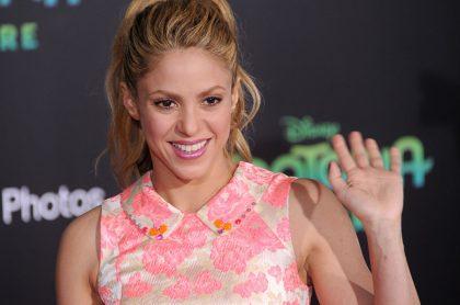 Foto de Shakira, una de los varios famosos colombianos que viven en España.