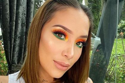 Selfi de Luisa Fernanda W, quien confesó por qué perdió un millón de seguidores en Instagram.